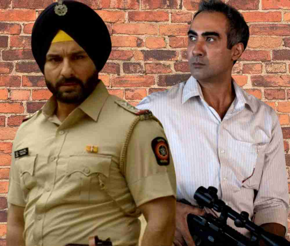 Sartaj and Shahid Sacred Games DKODING