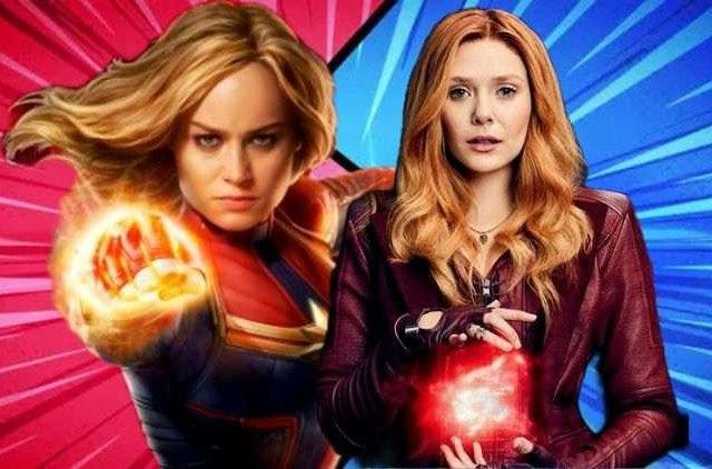 Scarlet Witch and Captain Marvel DKODING