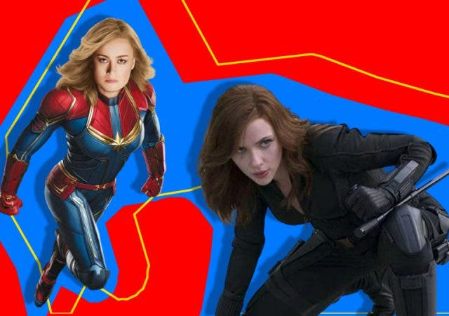 What is Brie Larson doing to stop Scarlett Johansson Black Widow from ruling MCU?