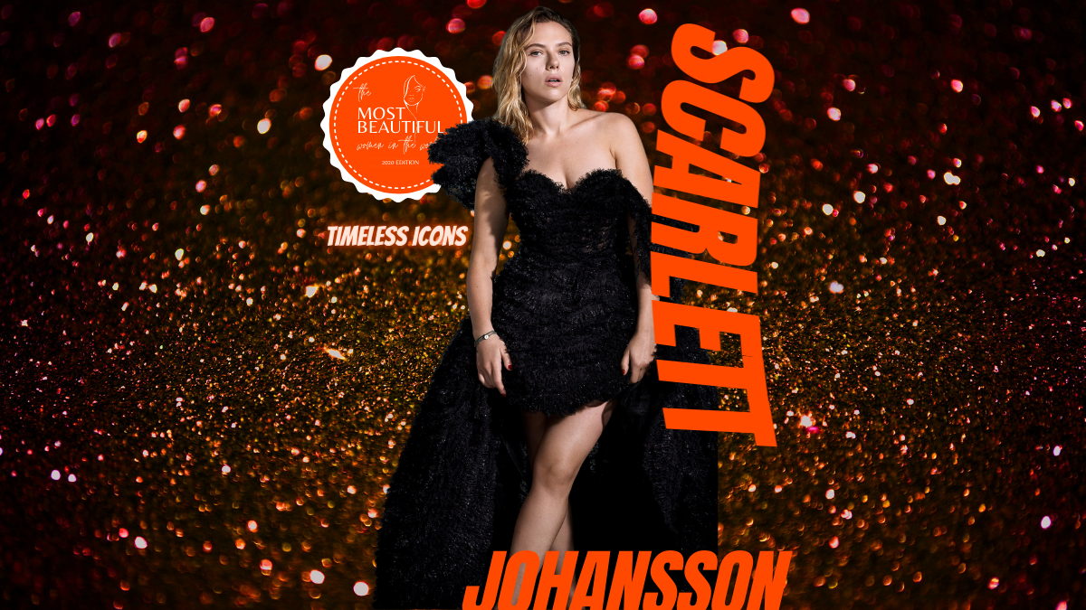 Scarlett Johansson People Who Inspire PWI Most Beautiful Women in the World 2020 - Timeless Icons League