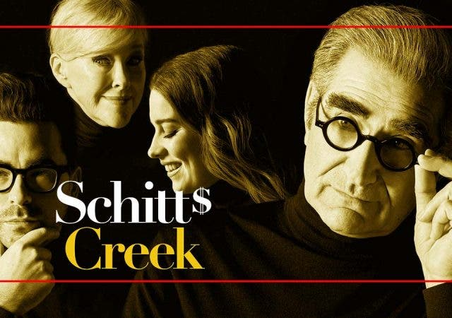 What's up with all the attention 'Schitt's Creek' is getting lately?