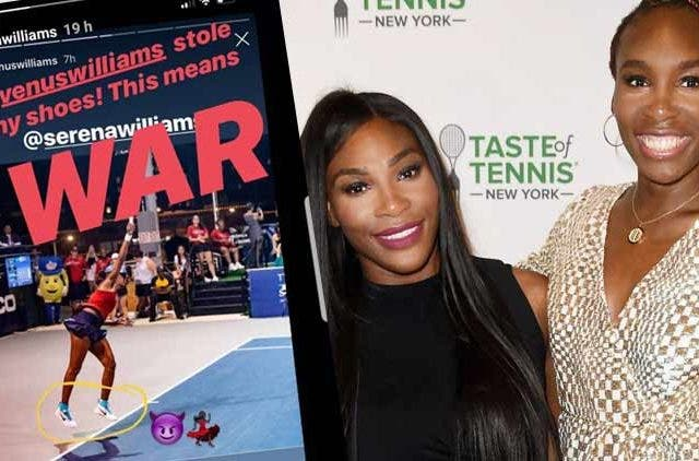 Serena-Williams-Sister-Insta-Story-Shoes-Trending-Today-DKODING