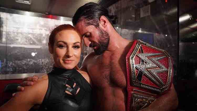 Made in WWE heaven: Becky Lynch & Seth Rollins are engaged!
