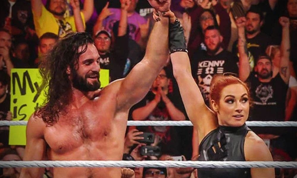 Seth-Rollins- Becky-Lynch-Ring-Trending-Today-DKODING