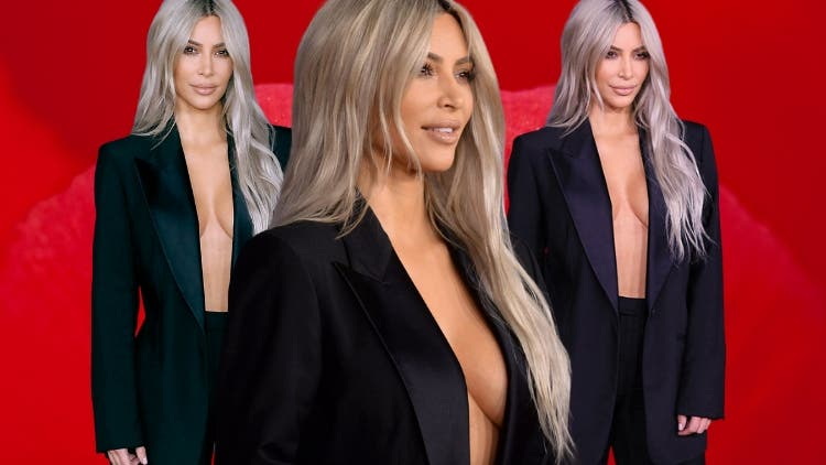 Women Celebrity's Cleavage Power Play With Sexy Power Business Suits 2019