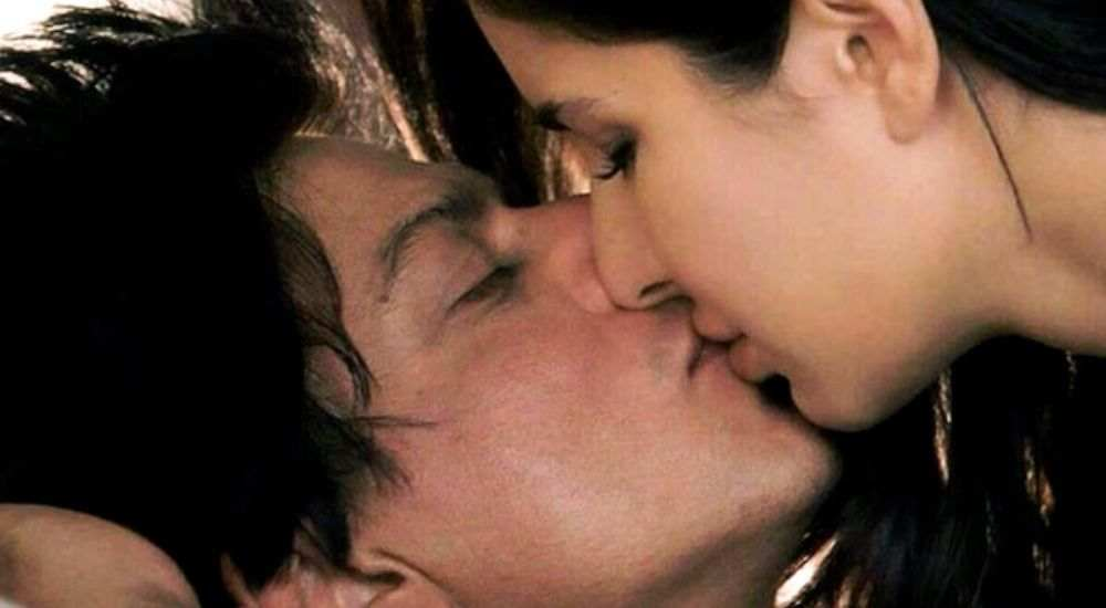 Shah-Rukh-Khan-Kissed-Katrina-Bollywood-Entertainment-DKODING