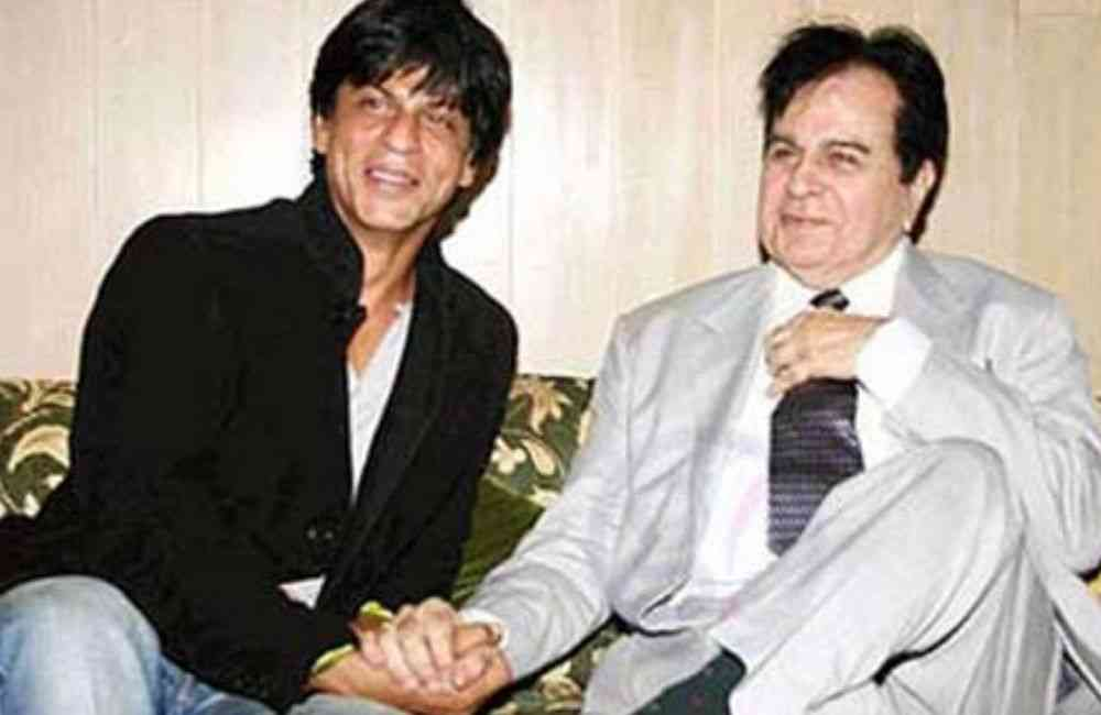 Shahrukh Khan and DIlip Kumar DKODING