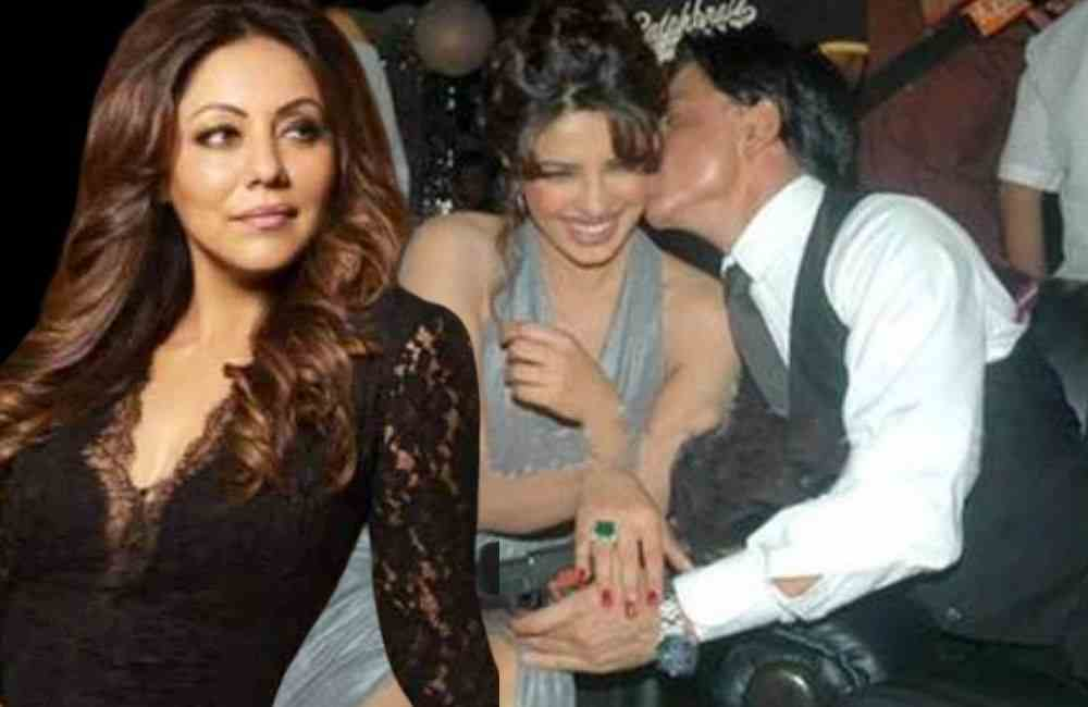 Shahrukh and Priyanka Kiss DKODING
