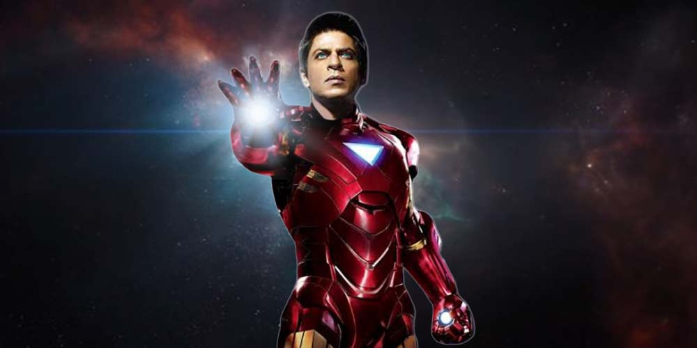 Sharukh Khan as Ironman DKODING