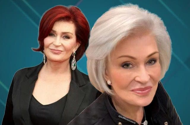 sharon osbourne changed her hair colour