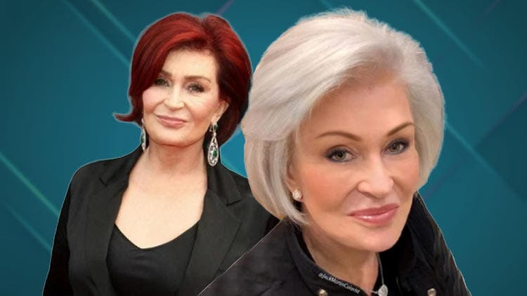 Sharon Osbourne Is Unrecognisable As She Ditches Her Signature Red Haircolour