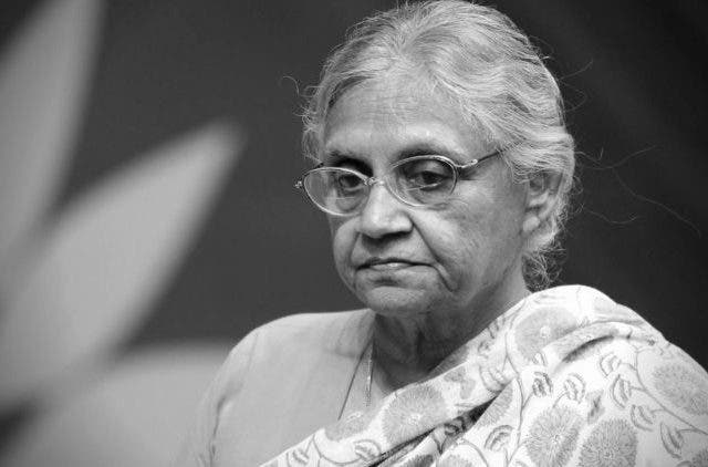Sheila-Dikshit-Dies-Of-Cardiac-Arrest-India-Politics-DKODING