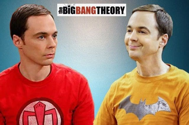 Sheldon Cooper was a ghost in TBBTH