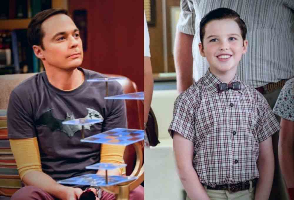 Adult and Young Sheldon DKODING