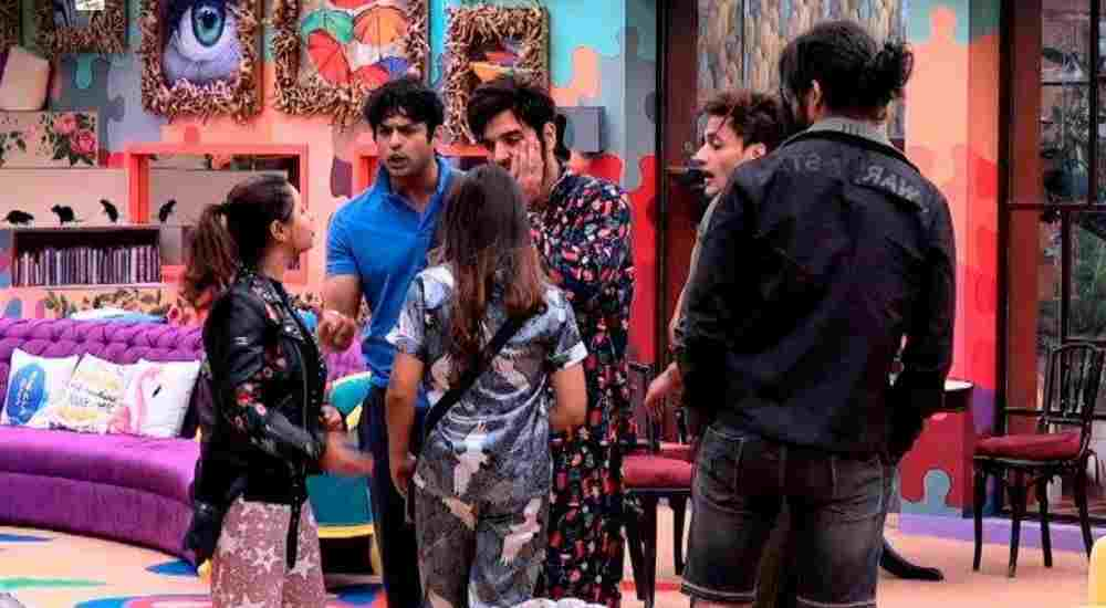 Siddharth's fights with other housemates