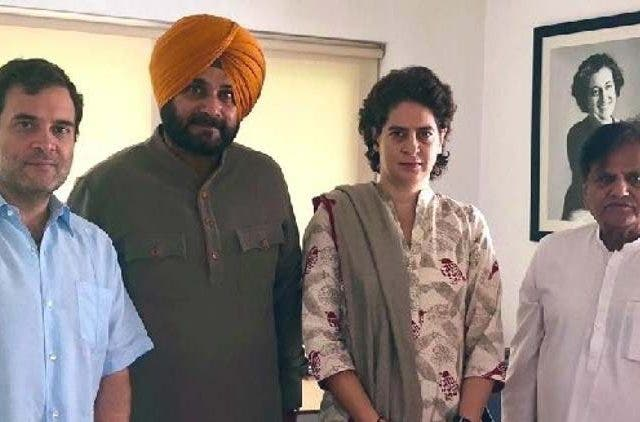 Sidhu-Meet-Rahul-Gandhi-India-Politics-DKODING