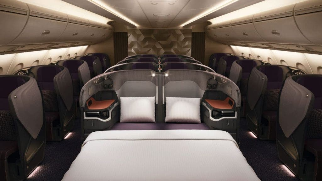 Singapore Airlines - World's Top 5 Must-Experience Business Class Airline Seats In 2021