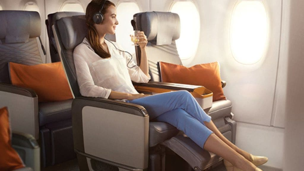Singapore Airlines - Top 5 Most Luxurious Economy Class Cabins In The World