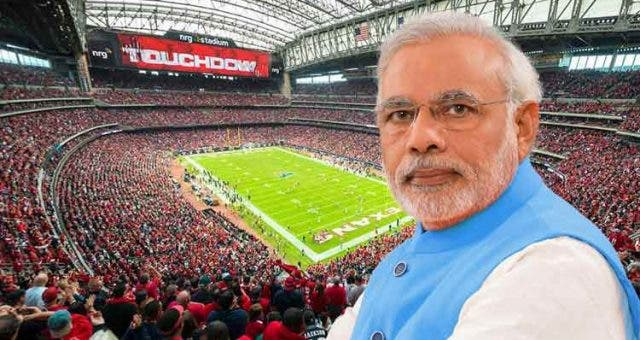 Sneak Peak Of NRG Stadium To Attend Howdy Modi Event Videos DKODING