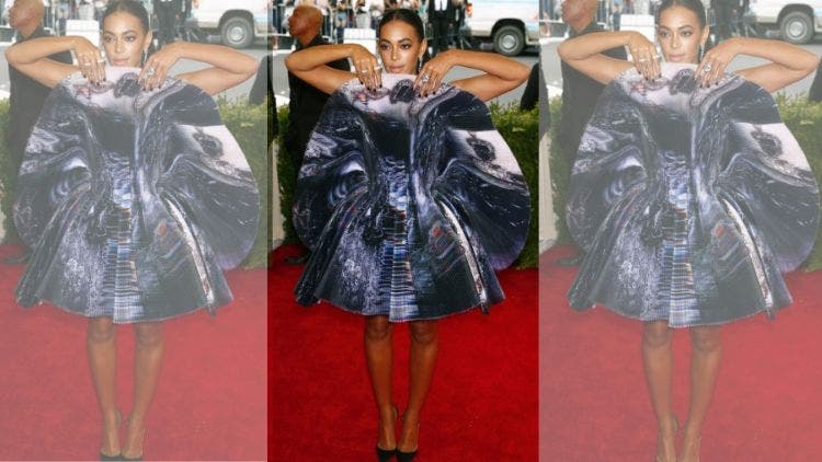 Solange-Met-Gala-Dress-Crazy-Outfit-Fashion-And-Beauty-Lifestyle-DKODING