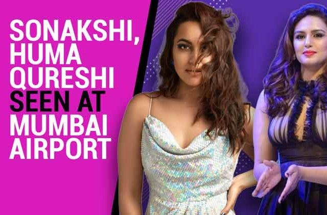 Sonakshi-Huma-Qureshi-seen-at-Mumbai-Videos-DKODING