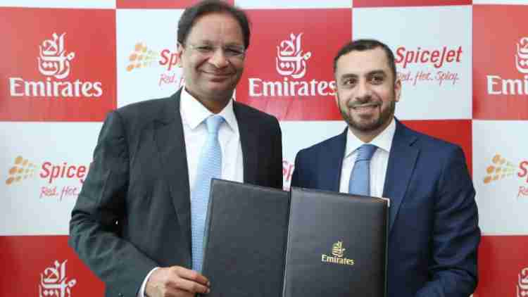 Spicejet-Emirates-Codeshare-Agreement-Companies-Business-DKODING