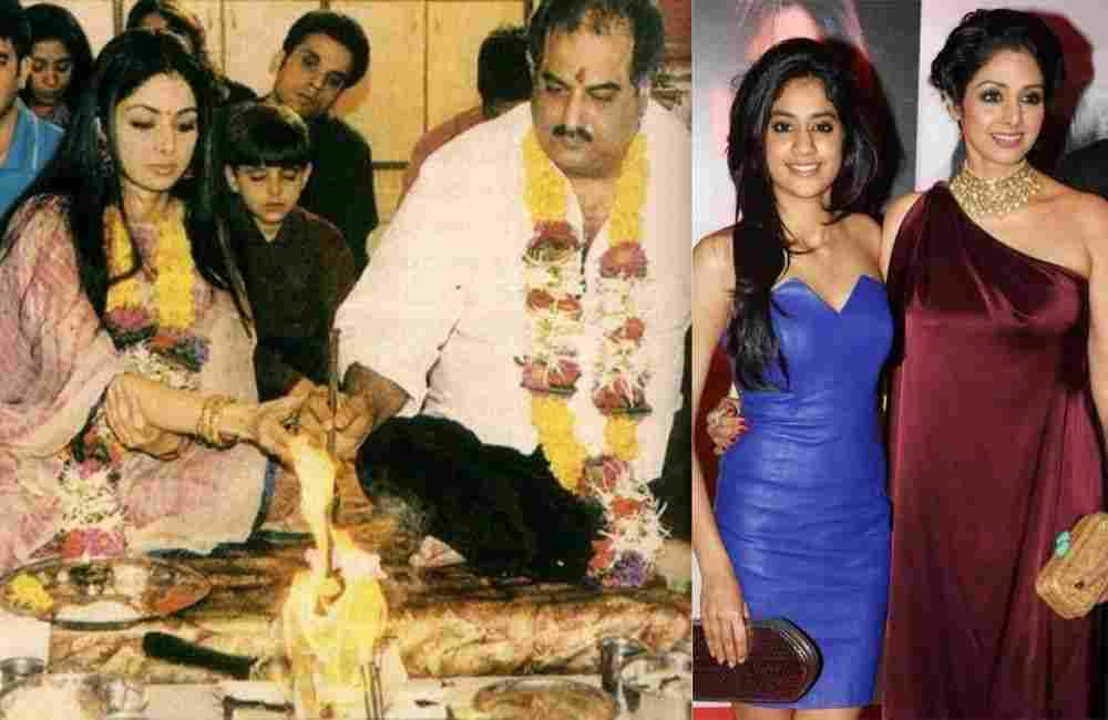 Sridevi revealed about her pregnancy with Boney Kapoor