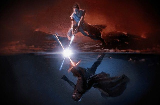 Star Wars The Next Trilogy The Rise of Skywalker- Kylo Ren vs Rey