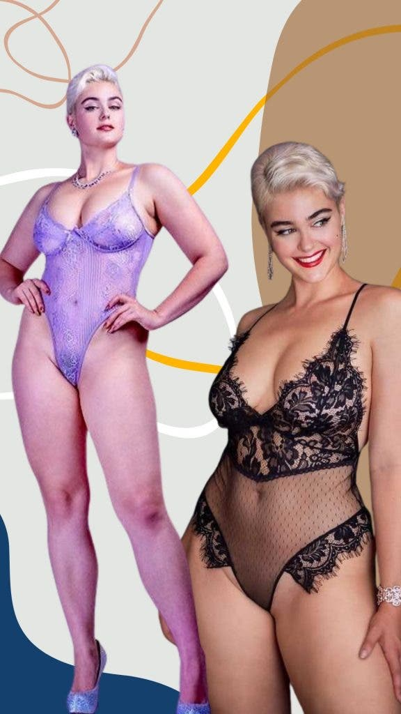 Stefania Ferrario —  Hip Cleavage Plus Size Finess To Die For