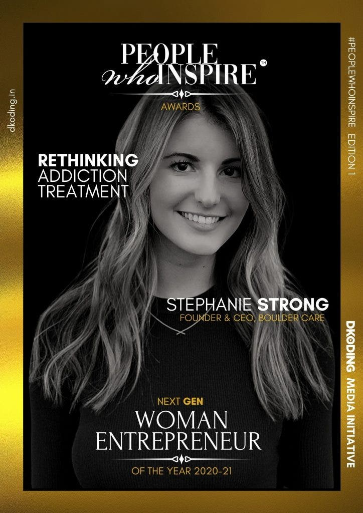 Stephanie Strong People Who Inspire PWI Woman Entrepreneur of the Year Award 2020-21
