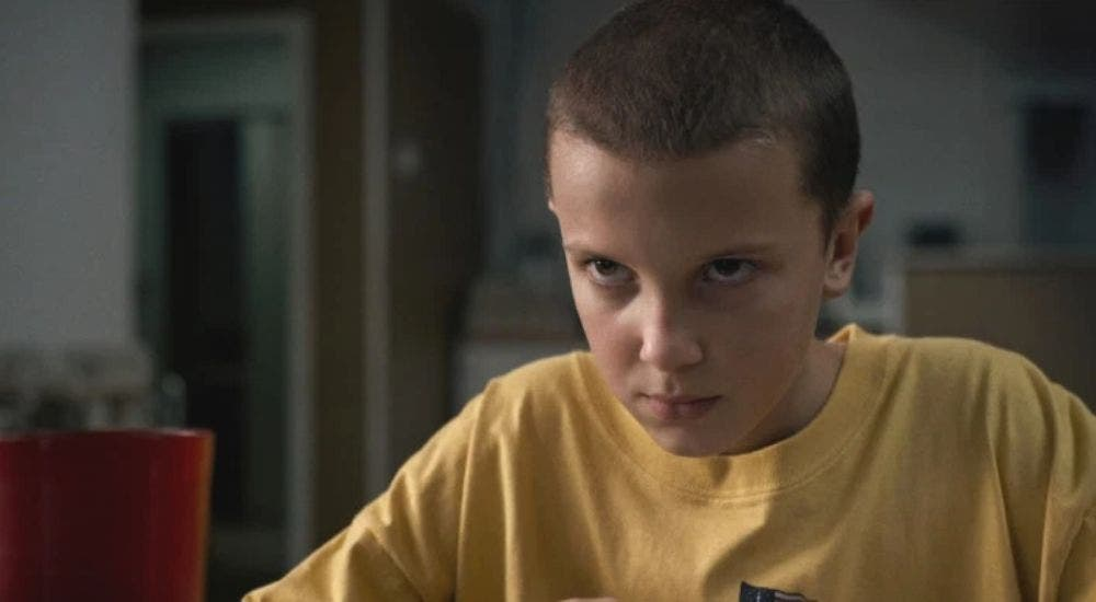 Millie Bobby Brown looked like Eleven when she was four