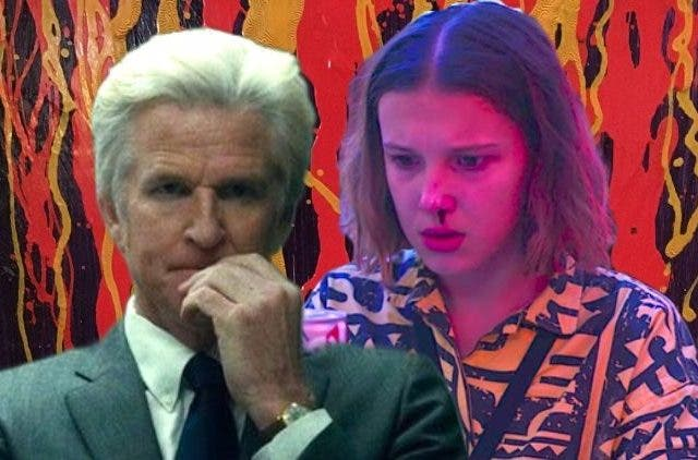 Dr Brenner and Eleven Stranger Things DKODING