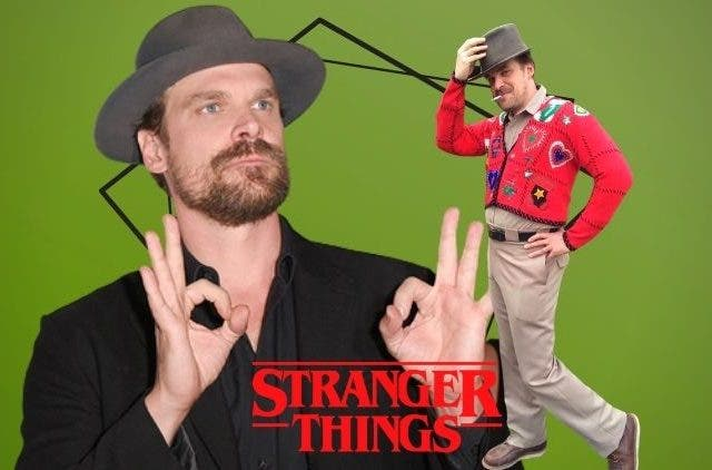 Stranger Things' Jim Hopper's new avatar