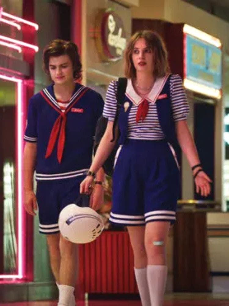 Lucas, Will, Eleven and Dustin in stranger things