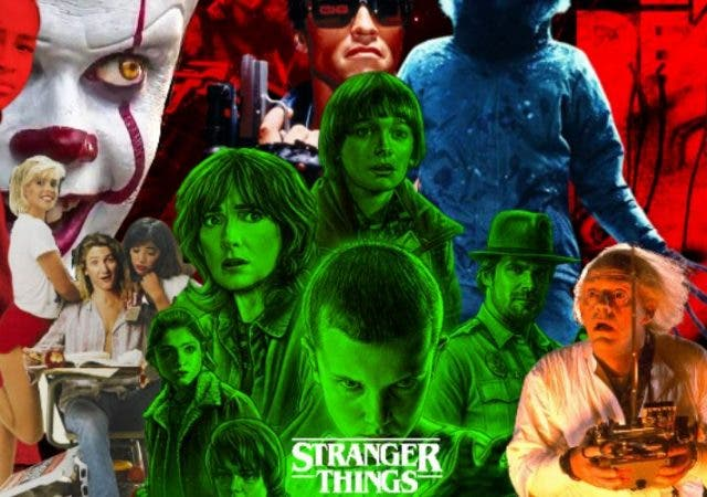 Stranger Things Pop Culture Movie References Poster