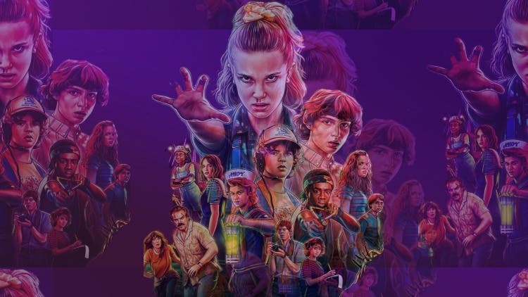 Stranger Things pop culture movie references