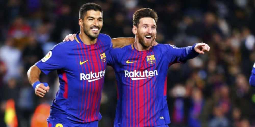 Suarez Messi Barcelona Football Sports DKODING