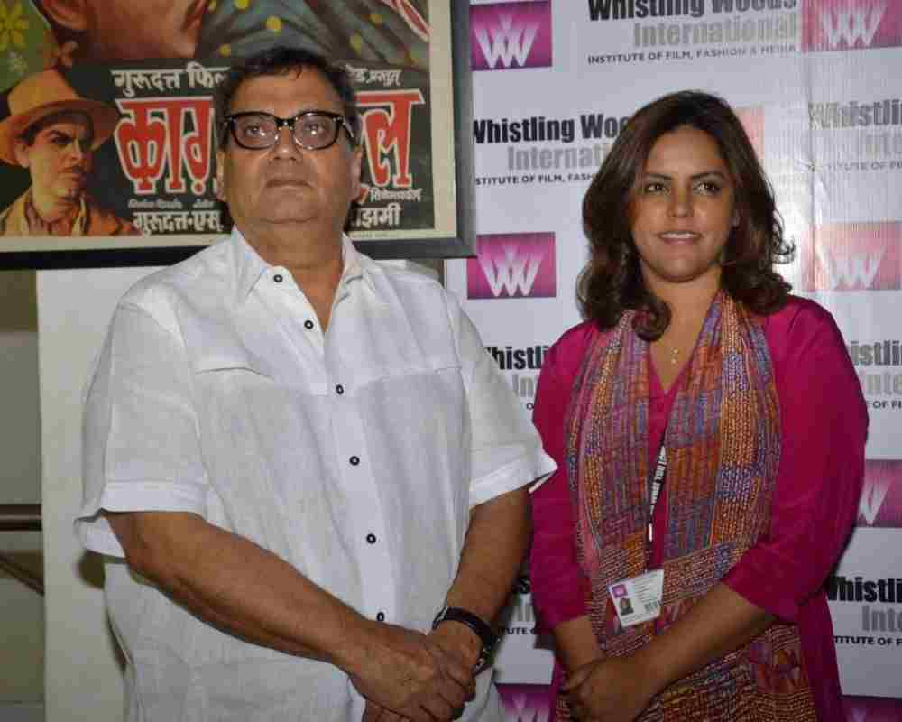 Subhash-Ghai-And-His-Daughter-Bollywood-Entertainment-DKODING