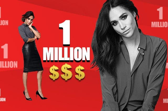 Meghan Markle will earn 1 million dollar per second when she returns to suits