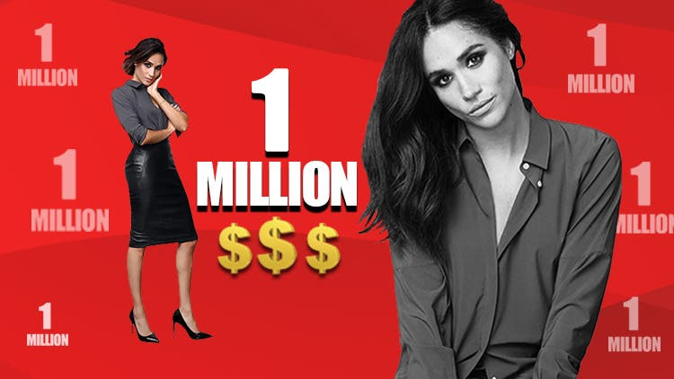Meghan Markle To Get One Million Dollar Per Second For Her Return In Suits