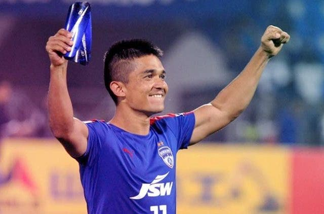 Sunil-Chhetri-Indian-Football-Captain-ISL-Indian-Super-League-Football-Sports-DKODING