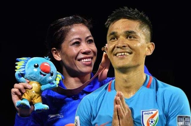 Sunil-Chhetri-Mary-Kom-Together-Inspiration-Indian-Football-Boxing-Others-Sports-DKODING