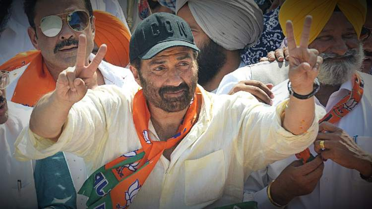Sunny Deol Campaigners Of BJP Haryana India DKODING