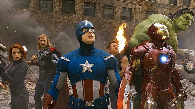 Avengers without their Superpowers
