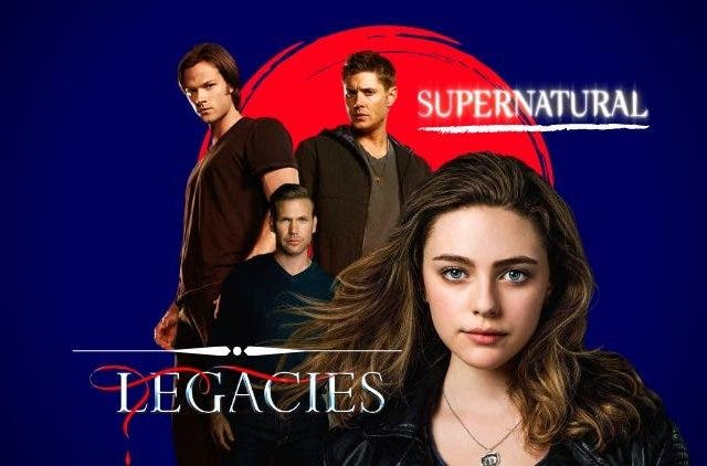 The crossover between Legacies and Supernatural
