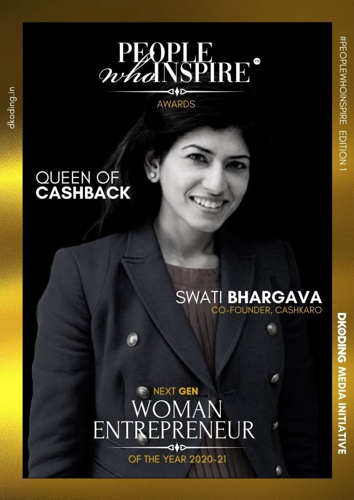 Swati Bhargava People Who Inspire PWI Woman Entrepreneur of the Year Award 2020-21