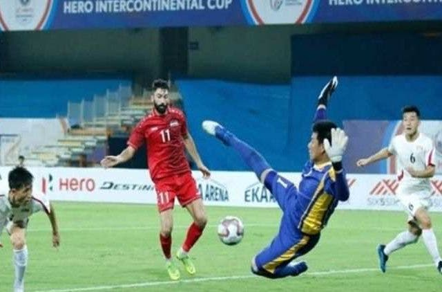 Syria-Defeats-Korea-Intercontinental-Cup-Footbal-Sports-DKODING