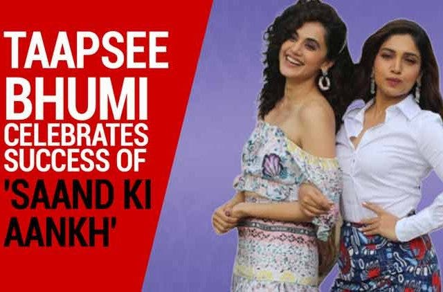 Taapsee-Bhumi-Celebrates-success-of-Saand-Ki-Aankh-Videos-DKODING