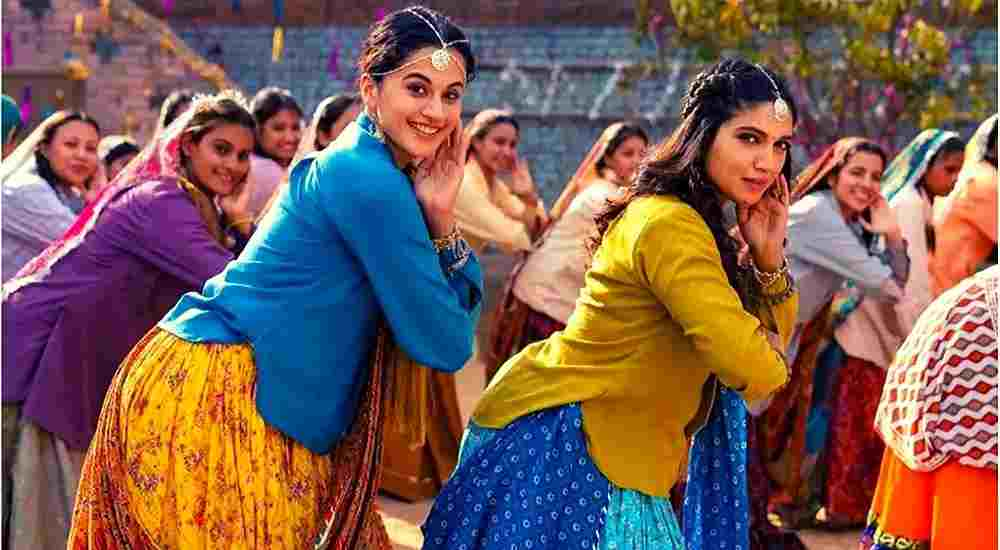Taapsee-Pannu-Bhumi-Pednekar-Womaniya-Song-Bollywood-Entertainment-DKODING