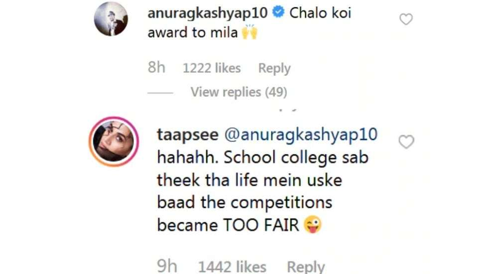 Taapsee-Pannu-trolled-By-Anurag-Kashyap-In-Her-Latest-Instagram-Post-entertainment-Bollywood-DKODING